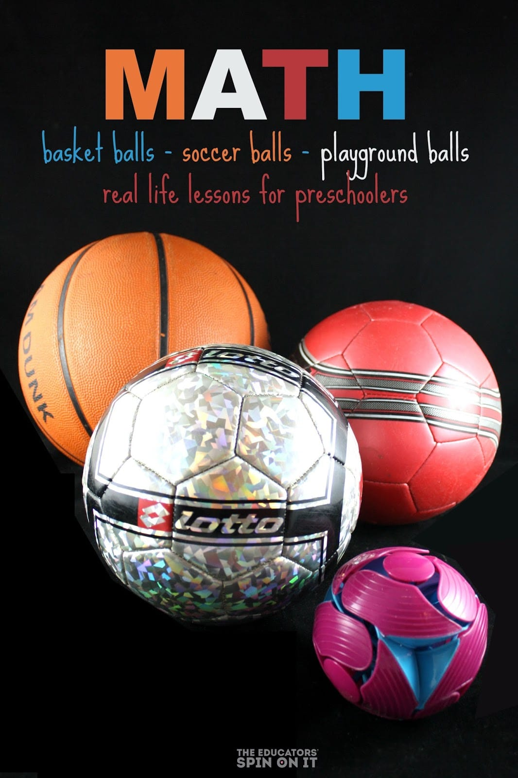3 Easy Math Activities For Kids To Do With Balls