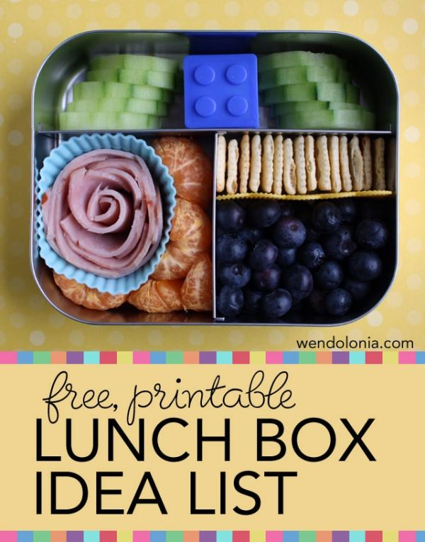 Lunch Box Ideas for Back to School - The Educators' Spin On It