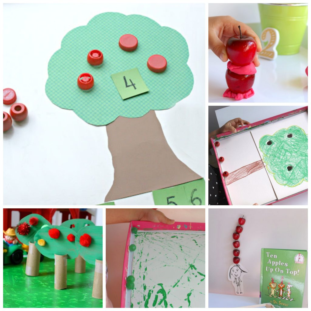 Stacking Apples Game A Fall Stem Activity For Kids
