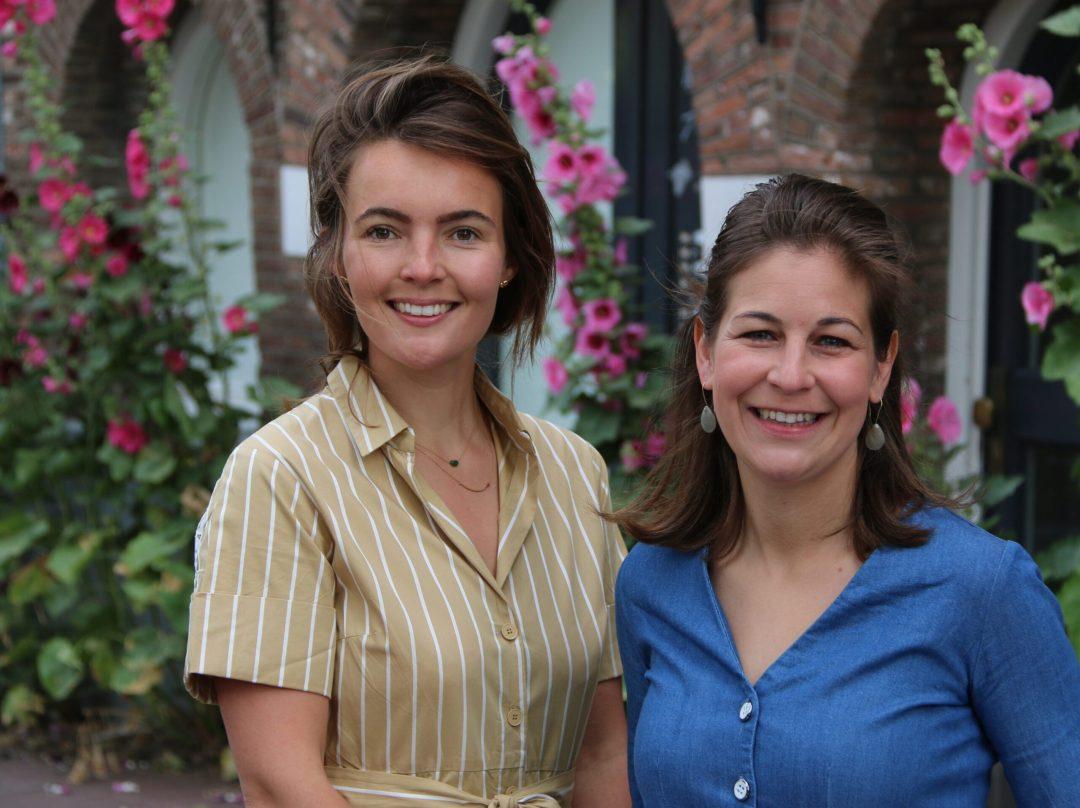 De gezichten achter Theeduif: Geertje van Keulen en Alexandra van Dam Merrett