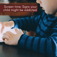 Screen time: Signs your child might be addicted