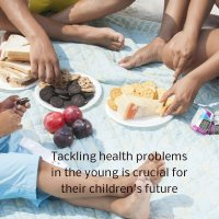 Tackling health problems in the young is crucial for their children's future