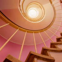 Climb stairs to lower blood pressure and strengthen leg muscles