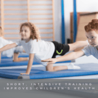 Short, intensive training improves children's health