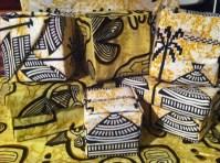 The Sankofa Box before the children decorate them...
