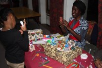 Capturing some priceless moment during the first ever Sankofa Box crafts workshop