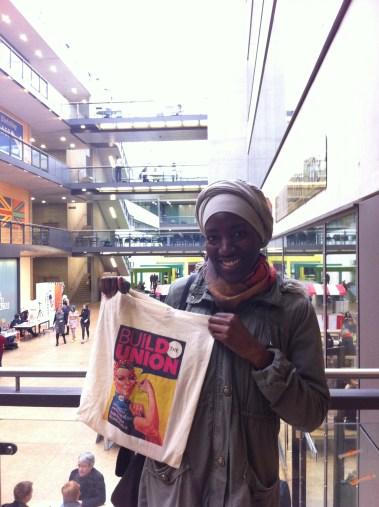 FashionFix: I love my new canvas bag! Build The Union!!