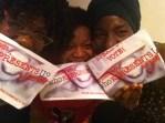 Stephania, Bev and me