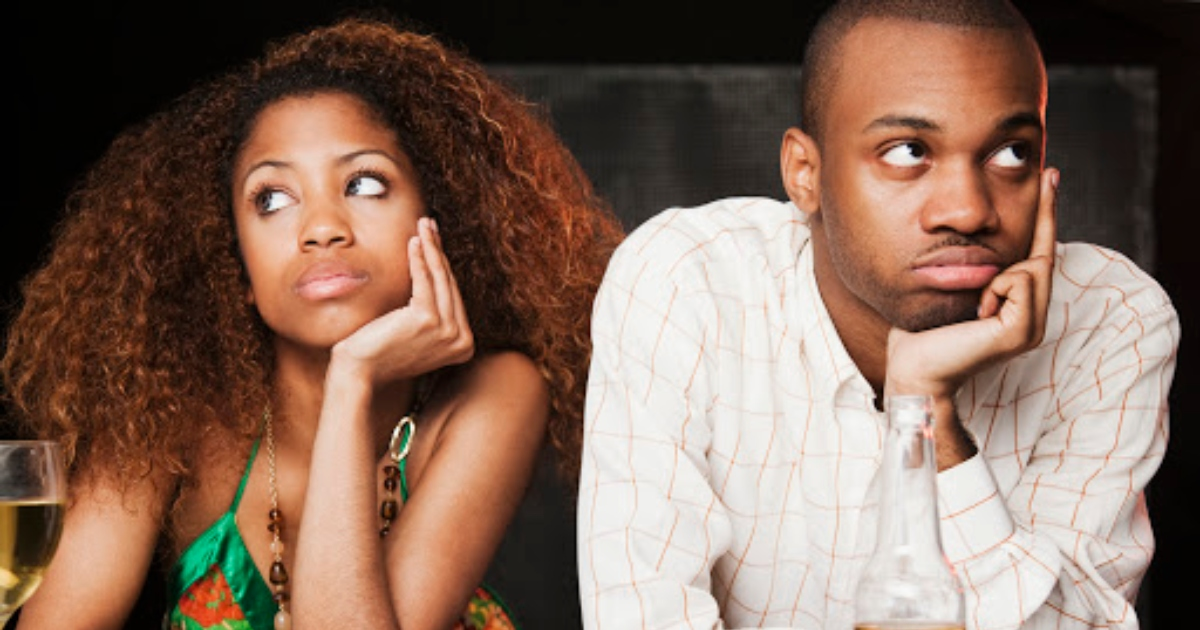 A couple on a date. It's normal for people to experience burnout dating. Photo: Getty Images.