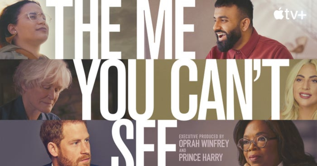 The Me You Can't See cover photo of the trailer. Photo: Oprah Winfrey/Twitter.