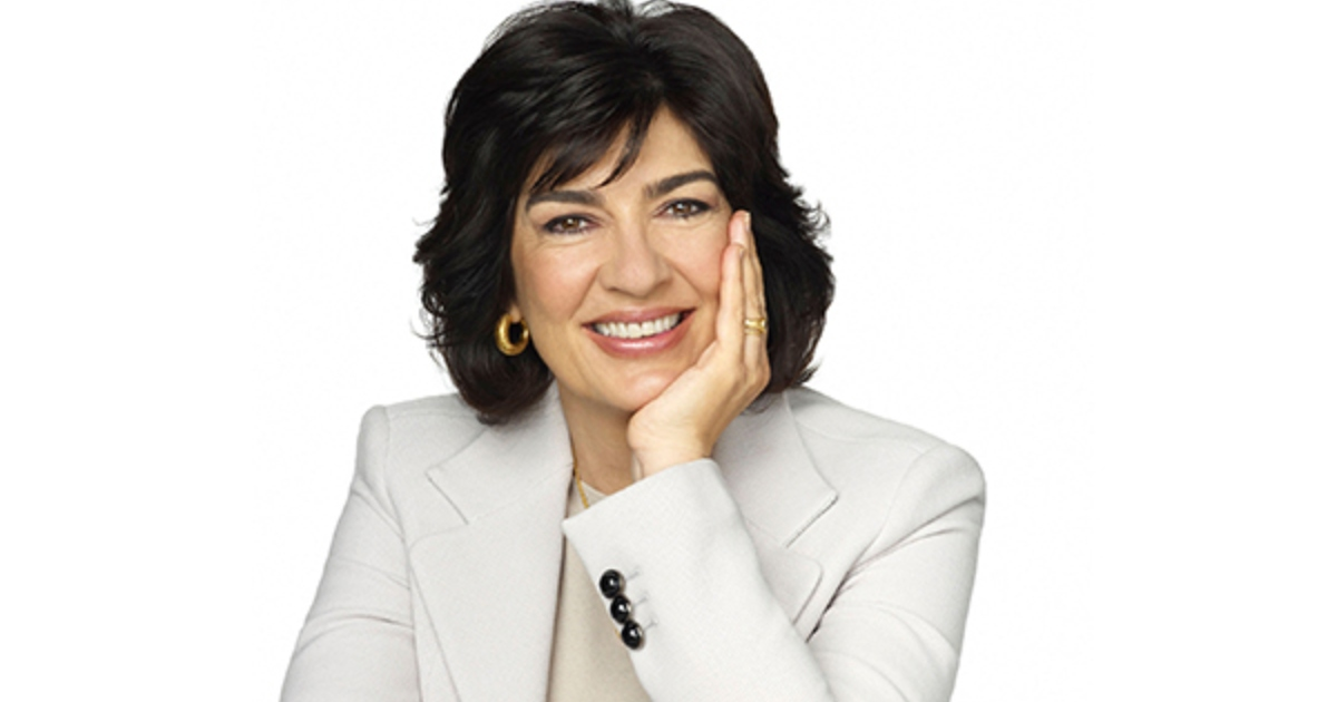 Christiane Amanpour shared on air that she was diagnosed with ovarian cancer. Photo: Getty Images.