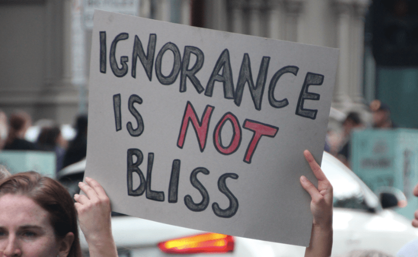 Ignorance Isn't Bliss - It's Bias - The Effortful Educator