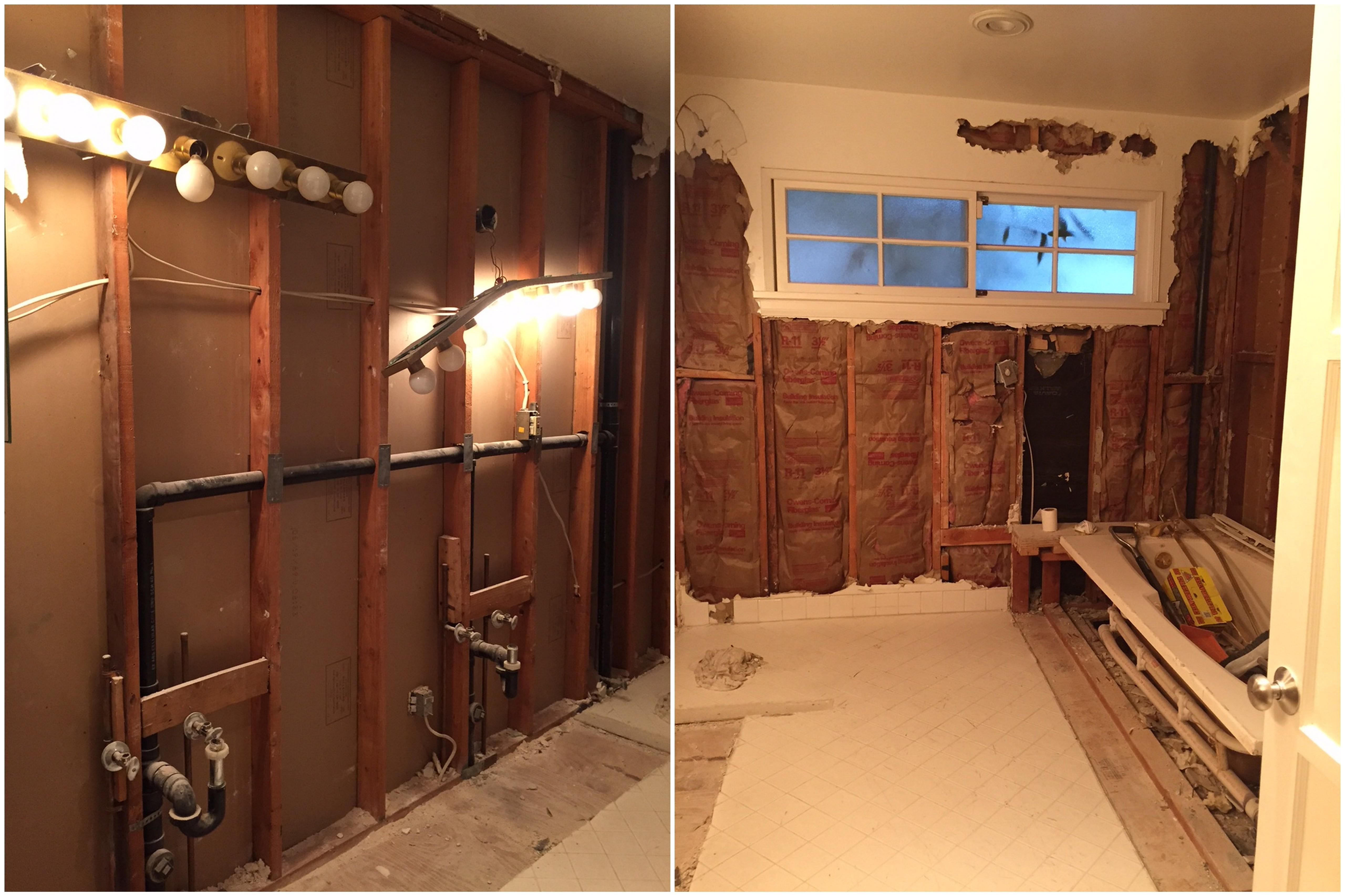Master Bathroom Renovation // Before + After — The ... on Restroom Renovation  id=42276