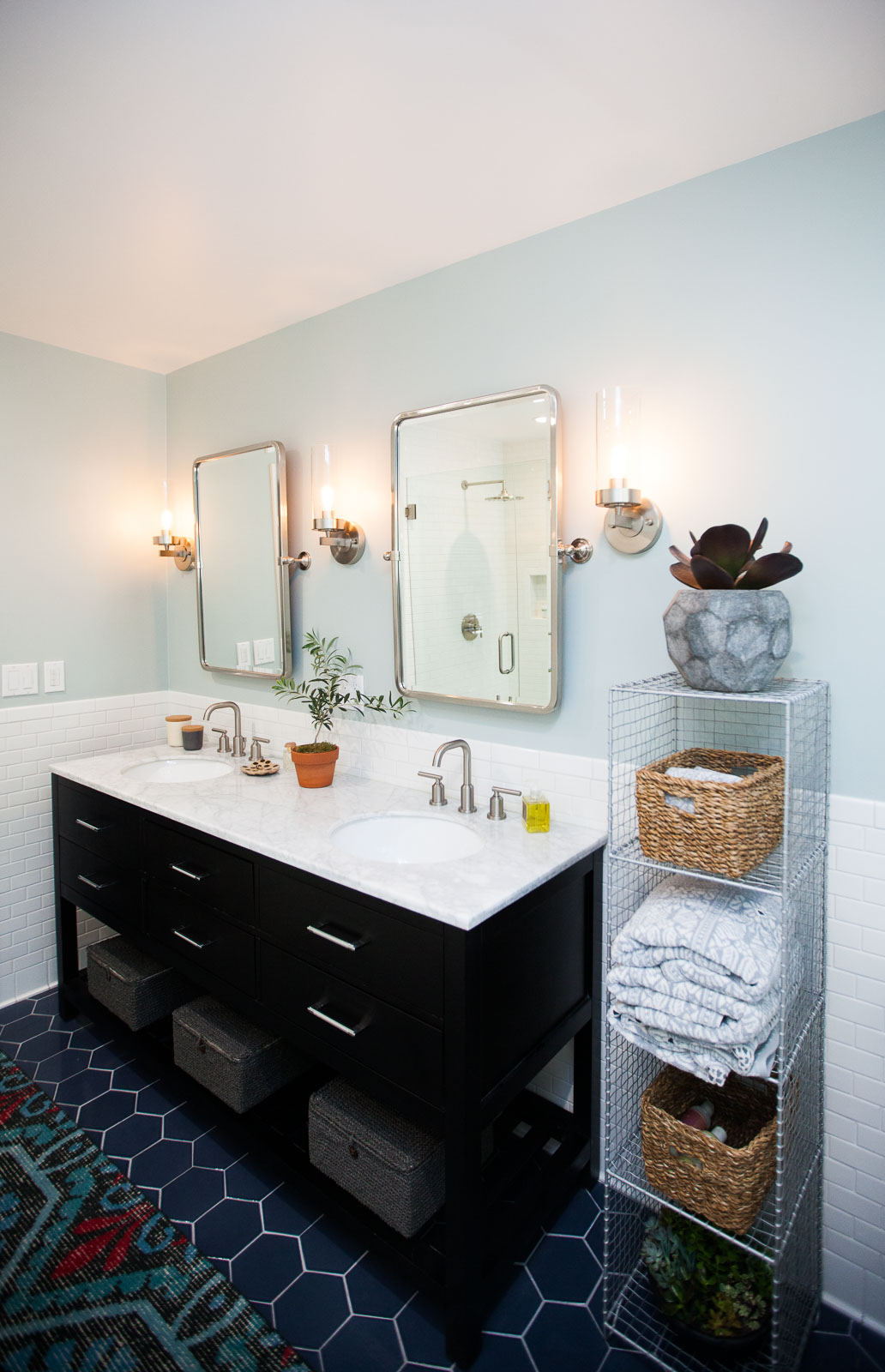 Master Bathroom Renovation // Before + After — The ... on Modern Small Bathroom Remodel  id=88699