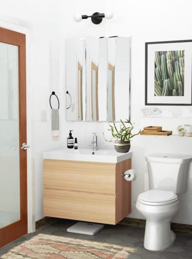 cool hunting    floating bathroom vanities - the effortless chic