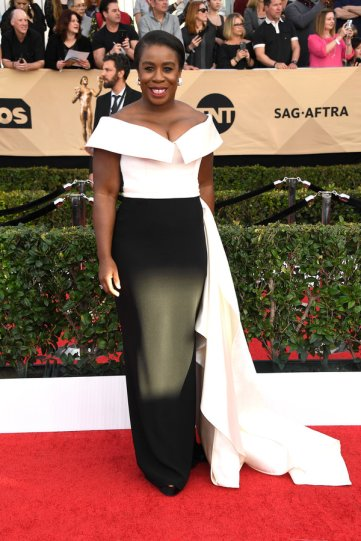 LOS ANGELES, CA - JANUARY 29: Actor Uzo Aduba attends The 23rd Annual Screen Actors Guild Awards at The Shrine Auditorium on January 29, 2017 in Los Angeles, California. 26592_008 (Photo by Frazer Harrison/Getty Images)