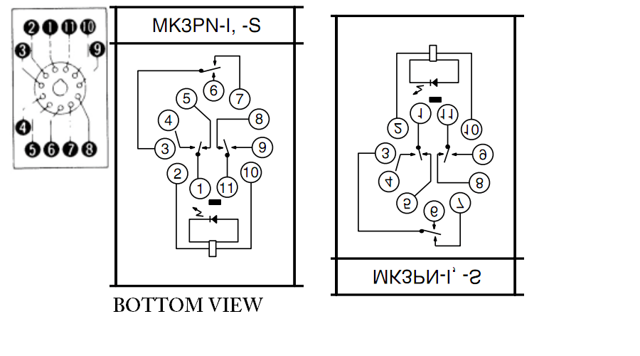 8 Pin Relay Wiring Diagram On 8 Download Wirning Diagrams