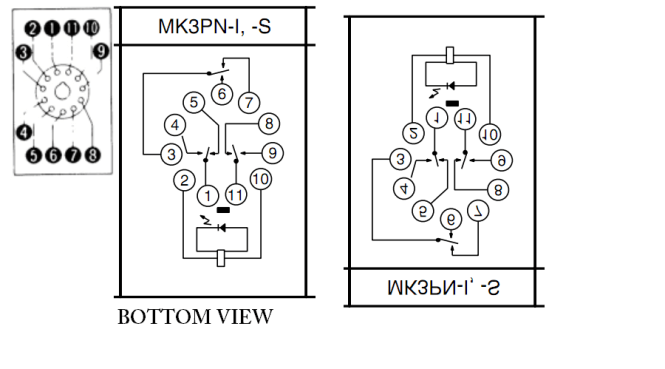 11 pin relay wiring diagram wiring diagram for 8 pin relay wiring image wiring 8 pin octal relay wiring diagram the