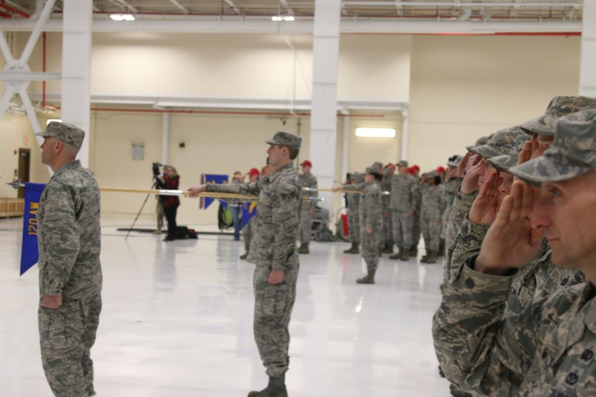 Montana Air National Guard Change of Command Ceremony
