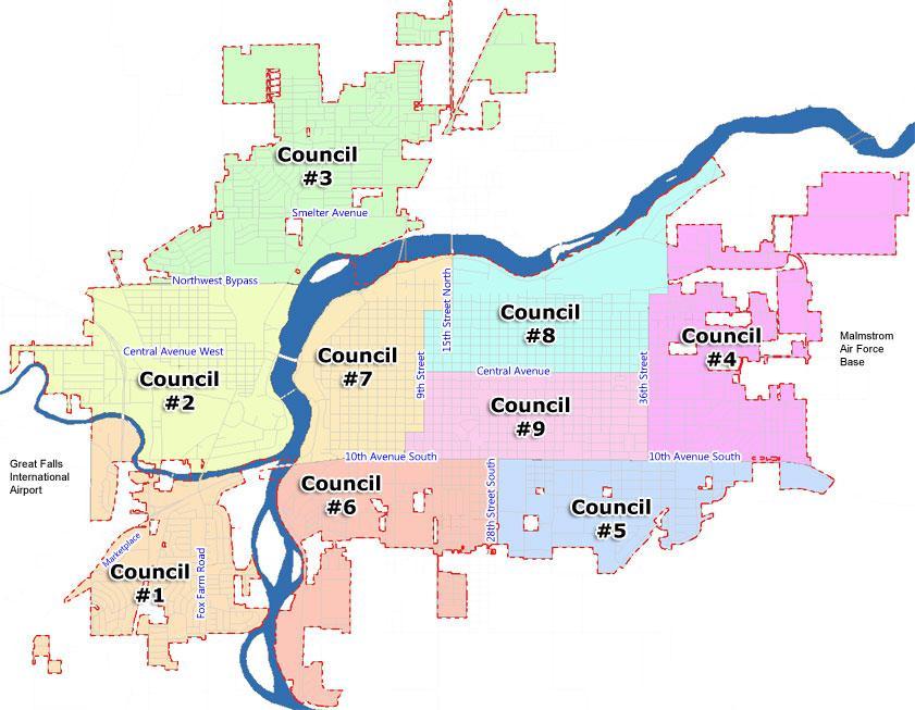 neighborhood councils map