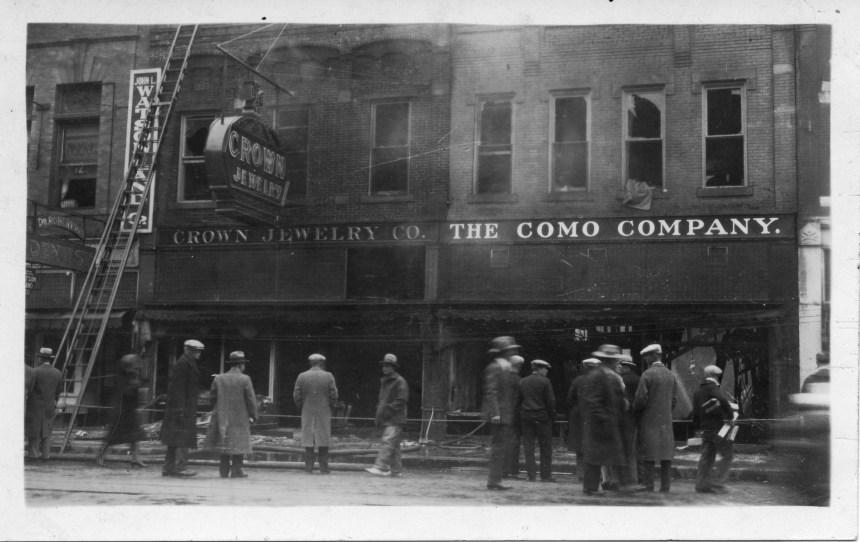 old metro building photo
