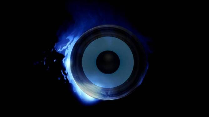 UKF Dubstep eyes on fire cover