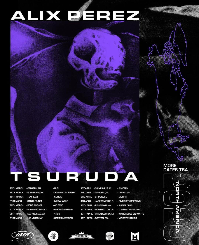 alix perez and tsuruda north america tour 2020