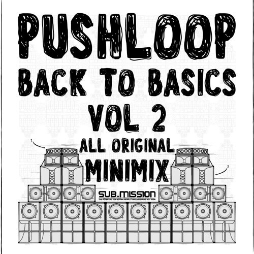 The Sub.Mission label resident, Pushloop drops in for the second installment of his back to the basics mix. The California native blesses us