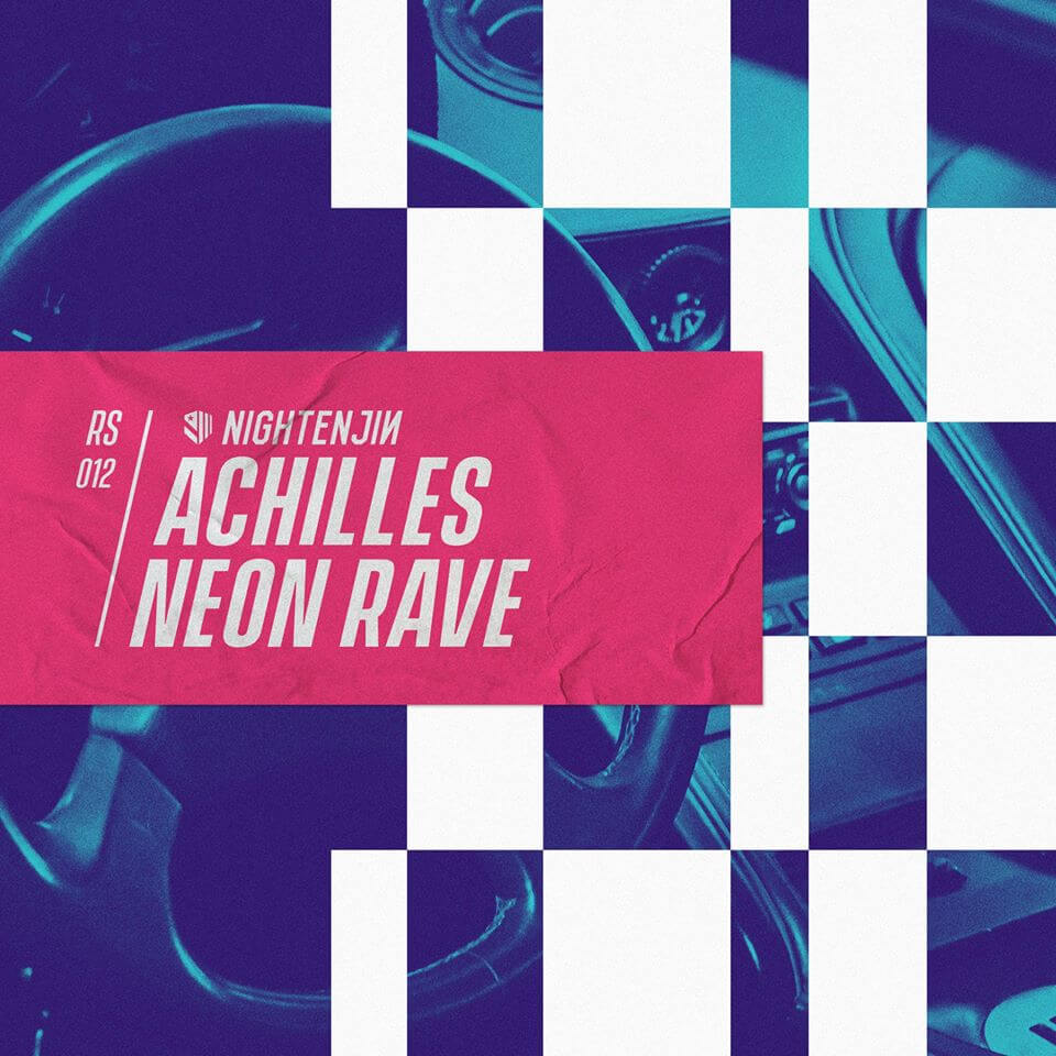 Achilles Neon Rave Electric Hawk