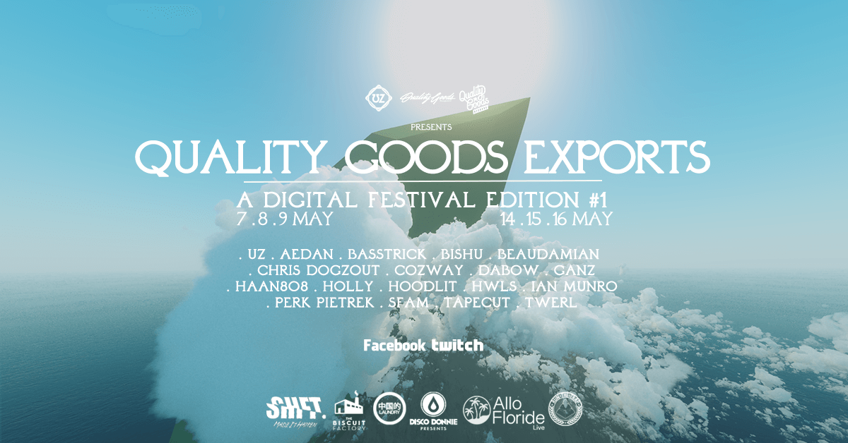 Quality Goods Records Digital Festival Electric hawk
