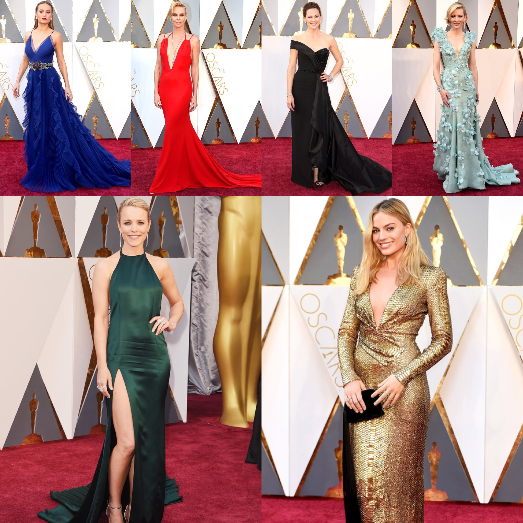Oscars 2016 Best Dressed List