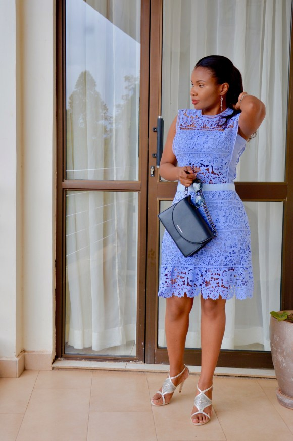 Chicwish Crochet dress outfit