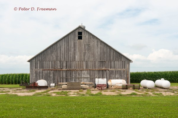 Corn Farm Barn