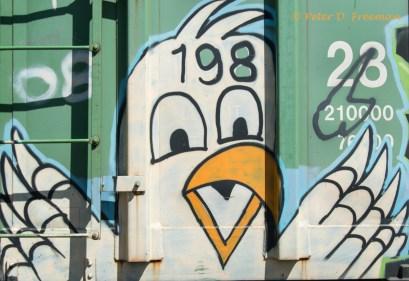 Railroad Graffiti 23