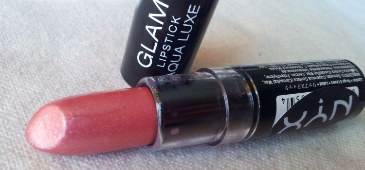Review – NYX Glam Lipstick Aqua Luxe #04 GLORY