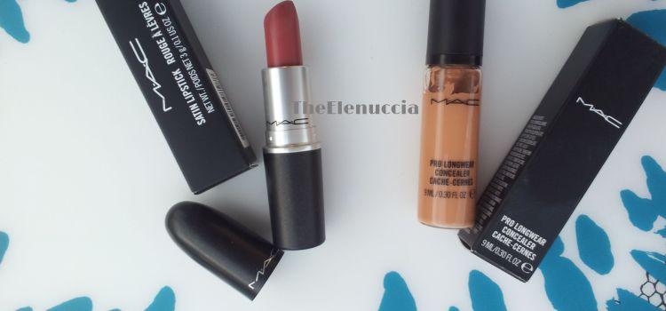 Haul + Christmas gift: MAC, Neve Cosmetics, ABH, Nabla…