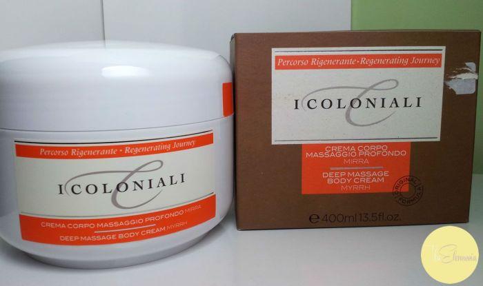 crema massaggio profondo i coloniali