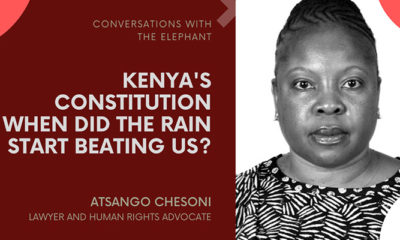 Atsango Chesoni: Kenya's Constitution - When Did the Rain Start Beating Us? Part I