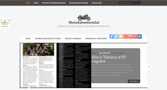 Moto Adventure Gal