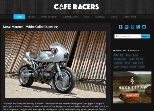 Returen of the cafe Racers