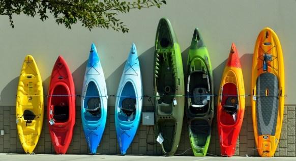 different kind of kayak