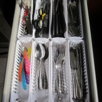Cutlery Drawer Organization