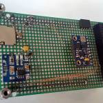 Top view of expansion board