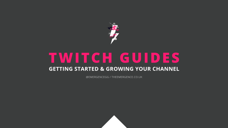 twitch, guides, starter, learning, education, the emergence, mark, longhurst, markaudiowave, emergencegg