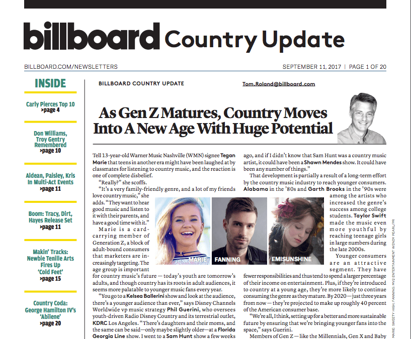 As Gen Z Matures, Country Moves Into A New Age With Huge Potential | Billboard