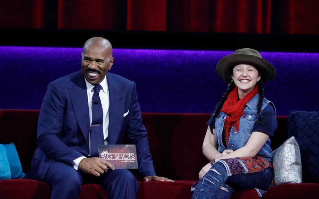 EMISUNSHINE  TO APPEAR ON  NBC'S LITTLE BIG SHOTS-STARRING STEVE HARVEY  THIS SUNDAY, APRIL 8, 2018