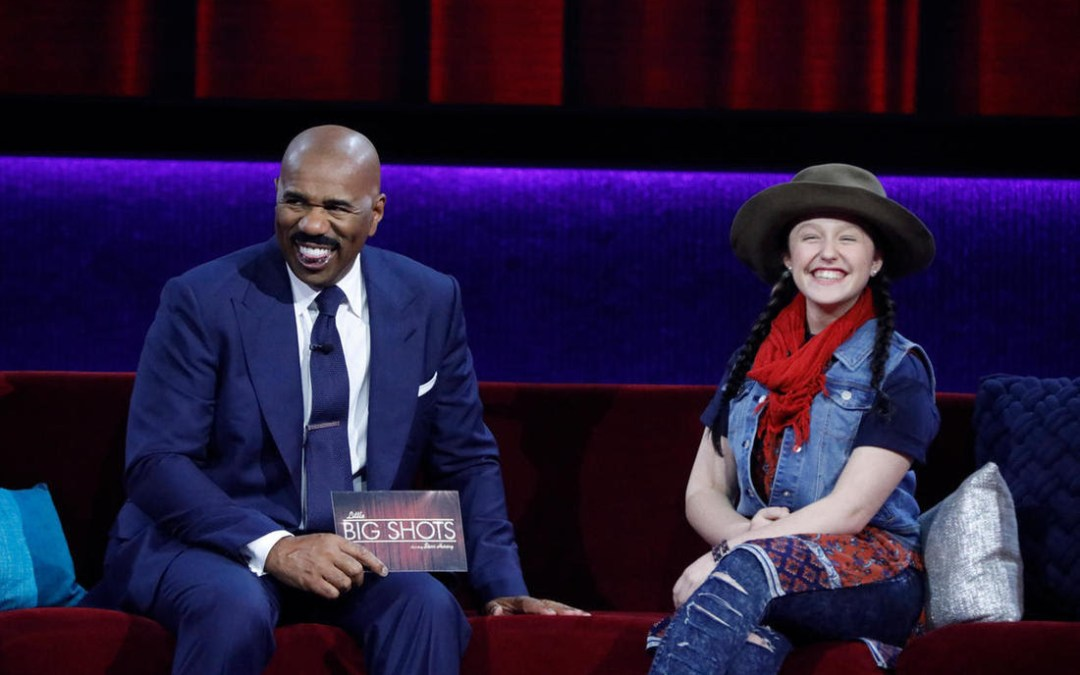 EMISUNSHINE  TO APPEAR ON  NBC'S LITTLE BIG SHOTS-STARRING STEVE HARVEY  THIS SUNDAY, APRIL 8, 2018