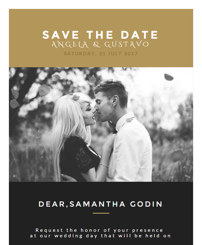 Enjoy Astounding Google Fonts With Wedding Email Template