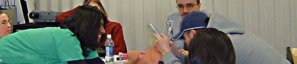 Medical Students Intubating