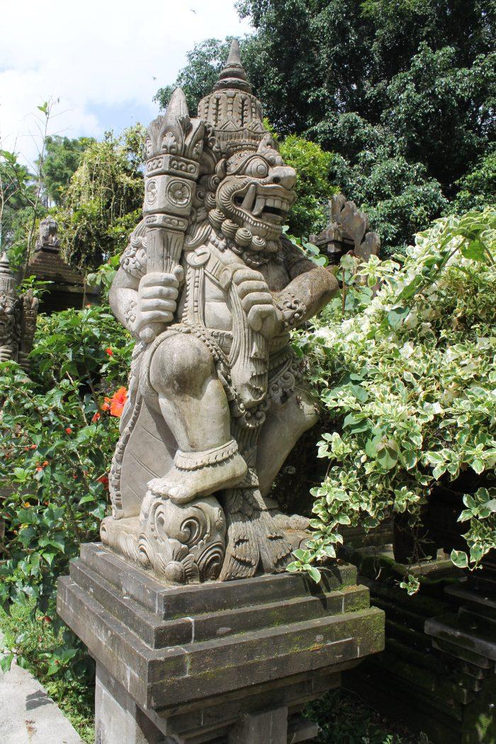 Hindu God statue Tirta Empul